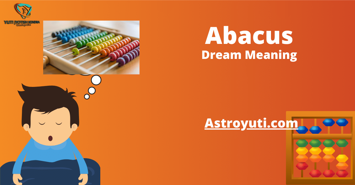 Dream of abacus