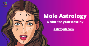 Moles astrology on different body parts